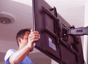 سرویس در محل تلویزیون