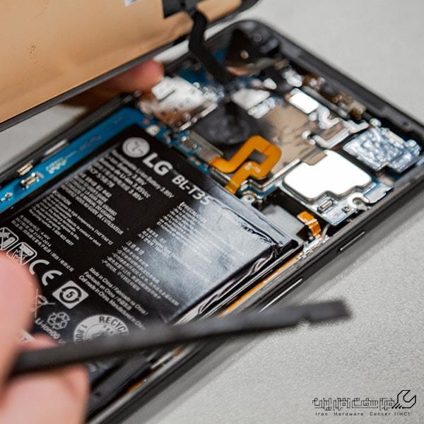 تعمیر اسپیکر موبایل ال جی