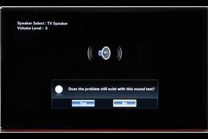 تعمیر مشکلات صدای تلویزیون ال جی