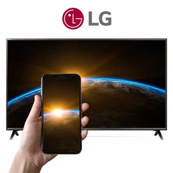 اتصال موبایل به تلویزیون ال جی