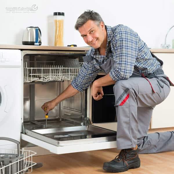 آموزش تعویض پمپ ظرفشویی ال جی