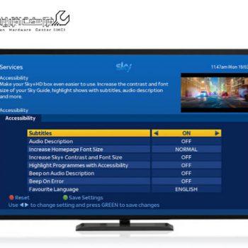 مشکل زیرنویس در تلویزیون ال جی