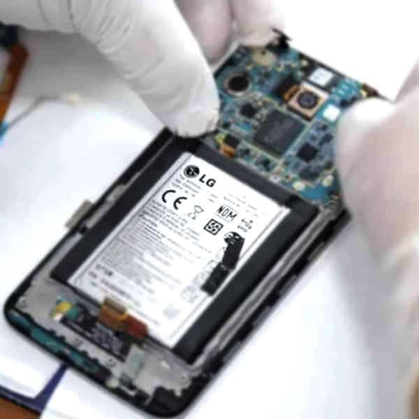 تعمیر هارد گوشی ال جی