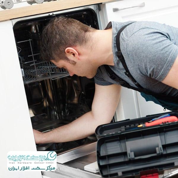 تعویض پمپ ظرفشویی ال جی