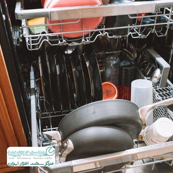 نچرخیدن آب پاش ظرفشویی ال جی