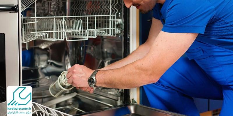 تعمیر ظرفشویی ال جی در منزل