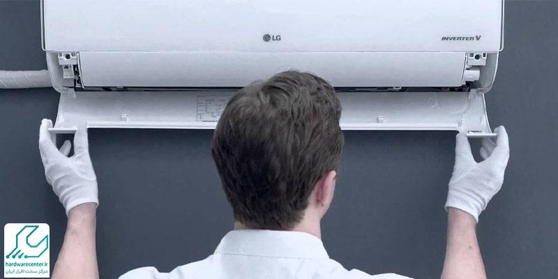 نصب کولر گازی ال جی چگونه انجام می شود؟