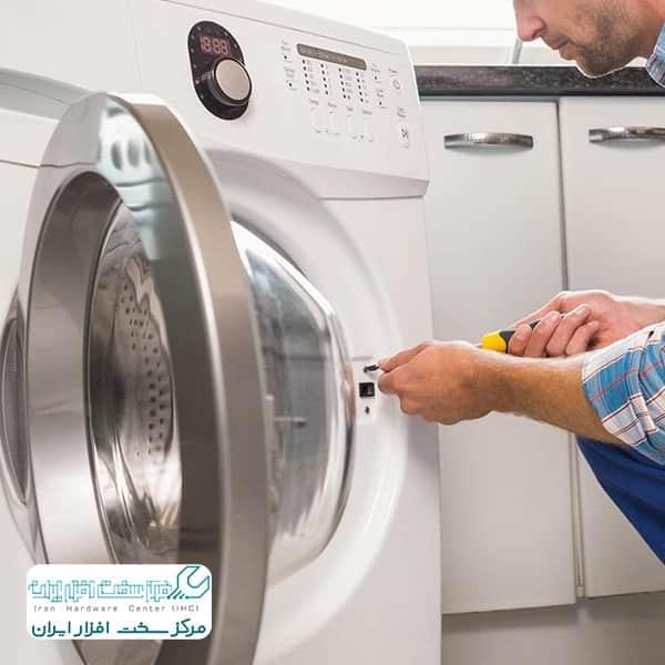 تعمیر شیر برقی لباسشویی ال جی