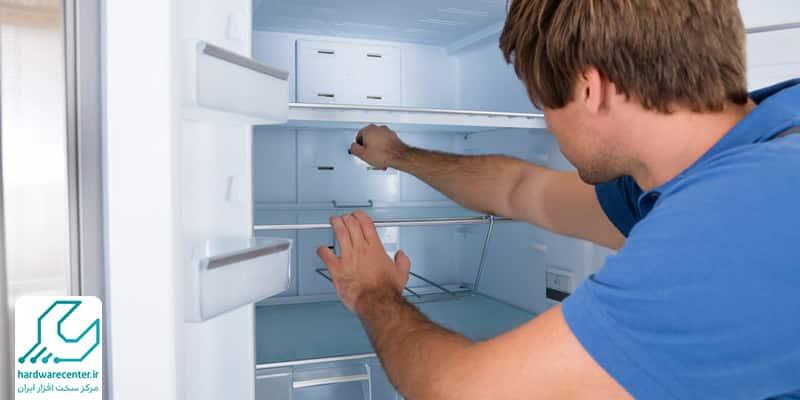 تعمیر یخچال دوقلو ال جی