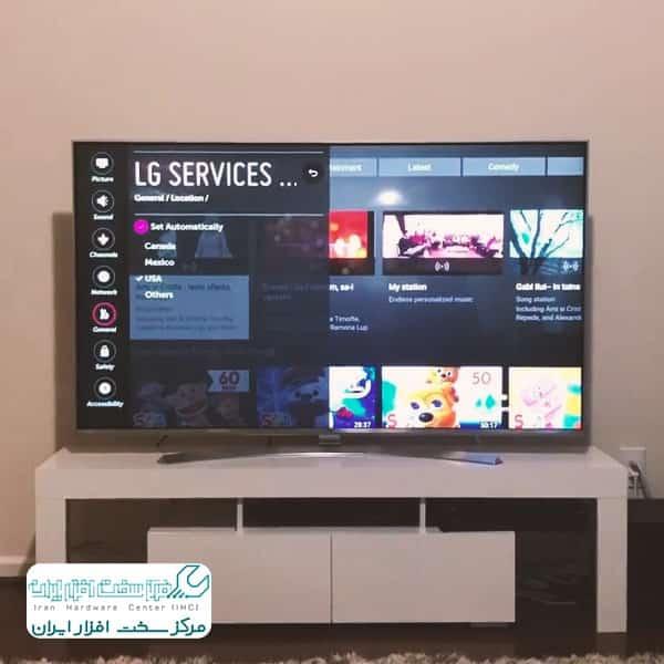 تقویت سیگنال تلویزیون ال جی