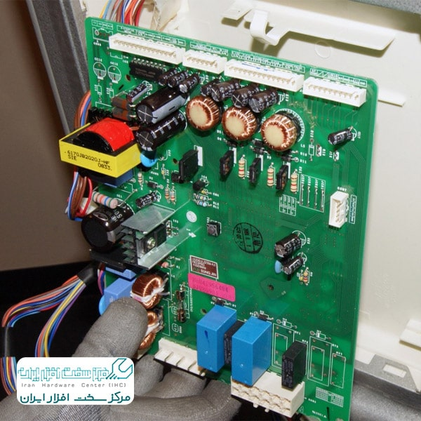 تعمیر برد الکترونیکی یخچال ال جی