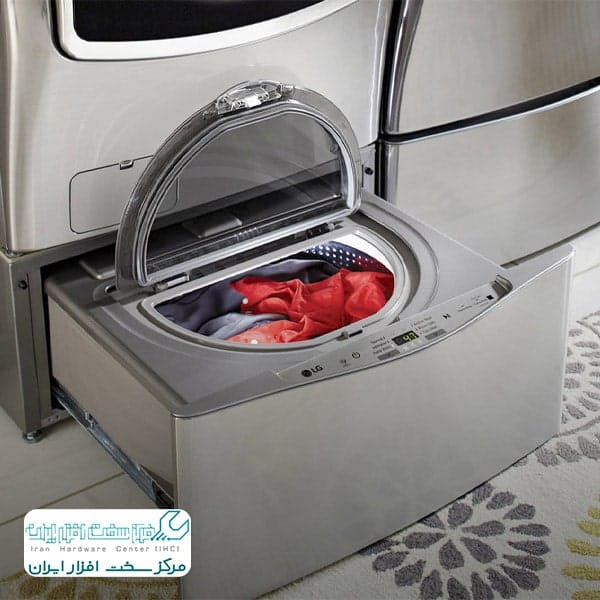 برق داشتن بدنه لباسشویی ال جی