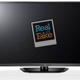 اصل بودن تلویزیون ال جی
